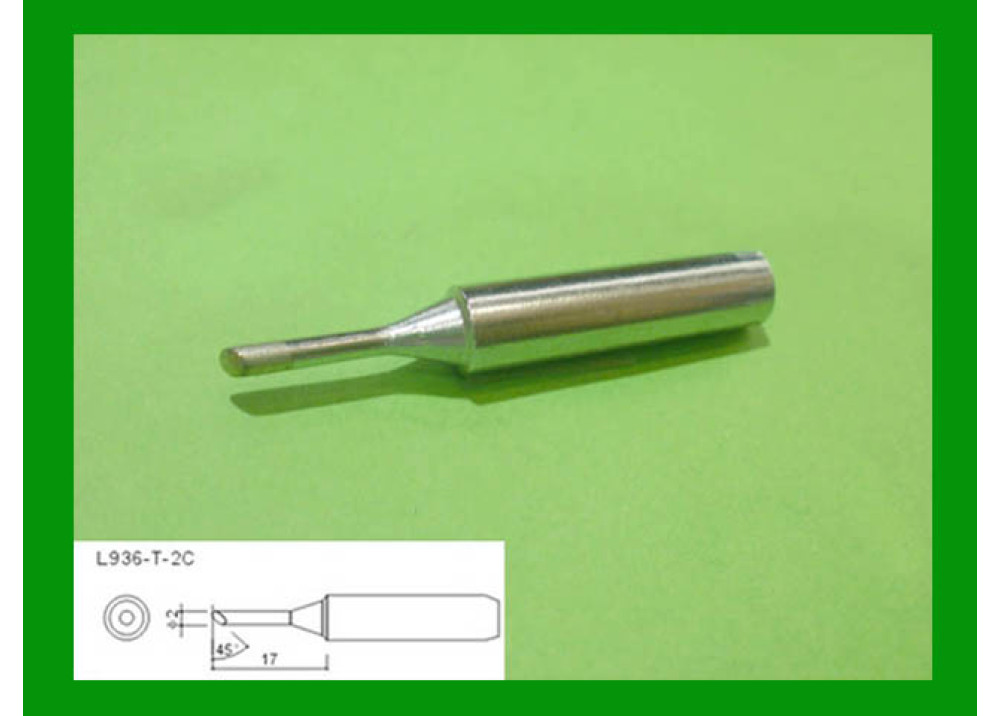 SOLDRIN IRON TIP LODESTAR L936T2C