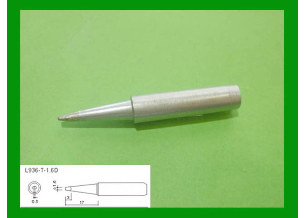 SOLDRIN IRON TIP LODESTAR L936T1.6D