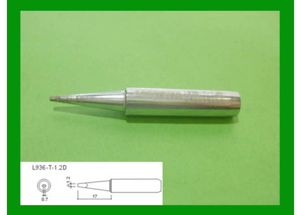 SOLDRIN IRON TIP LODESTAR L936T1.2D