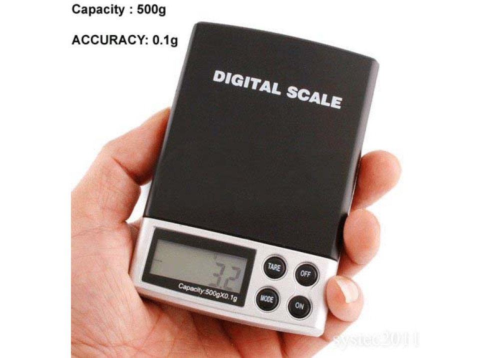 Electronic Digital Scale 500g 0.1g