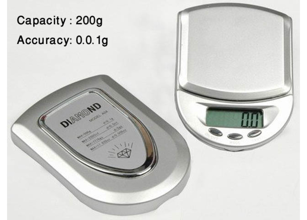 Diamond Electronic Digital Scale 200g 0.01g