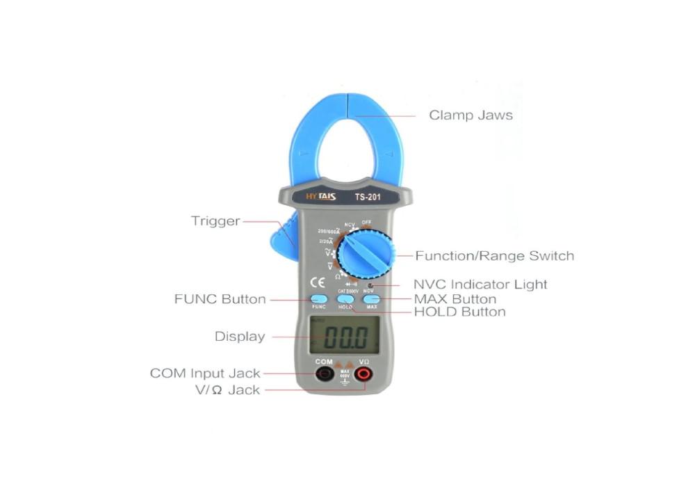 Clamp Meter TAIS TS201