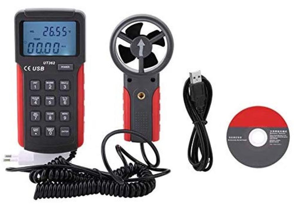 UNI-T UT362 Wind Speed Meter Anemometer