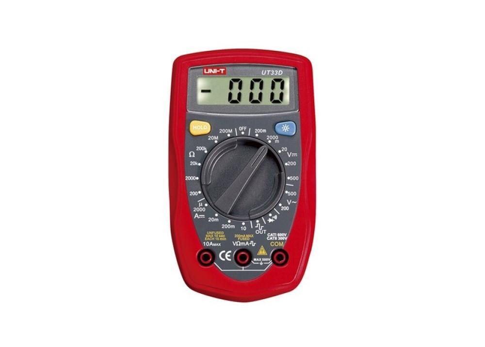 Palm-Size Digital Multim DMM UT33D
