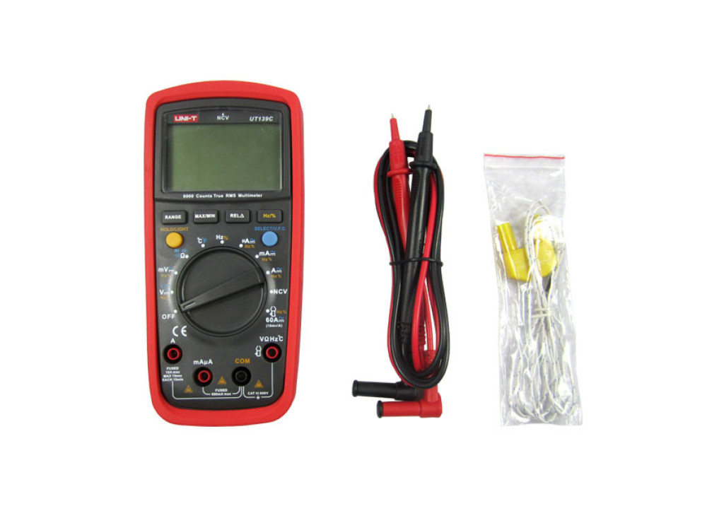 UNI-T True RMS Digital Multimeters UT139C