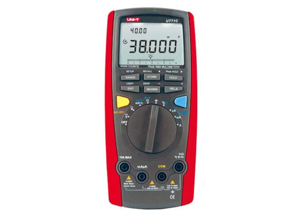 Intelligent Digital Multimeters UT71C