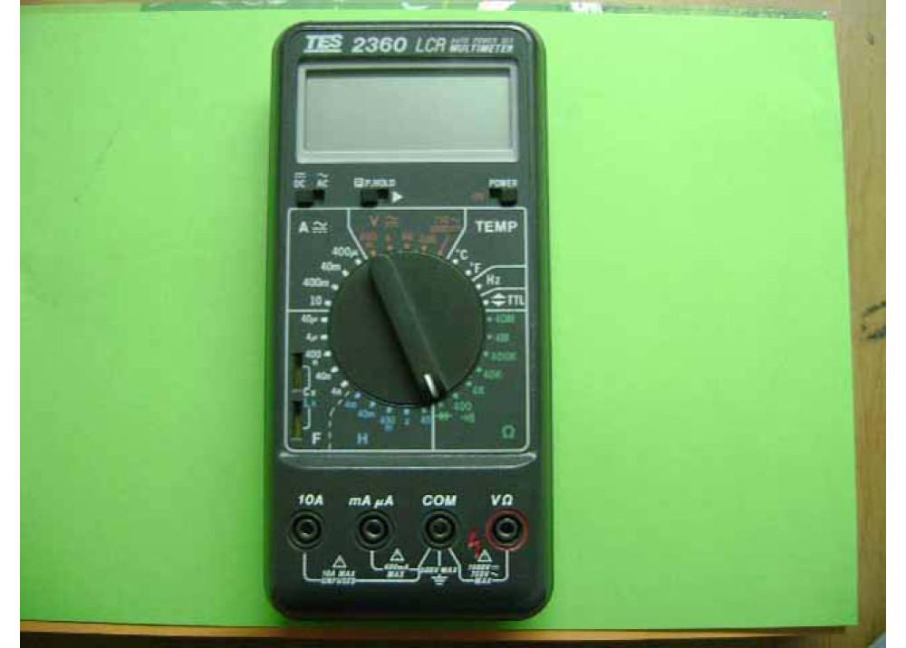 DMM TES2360 LCR multimeter