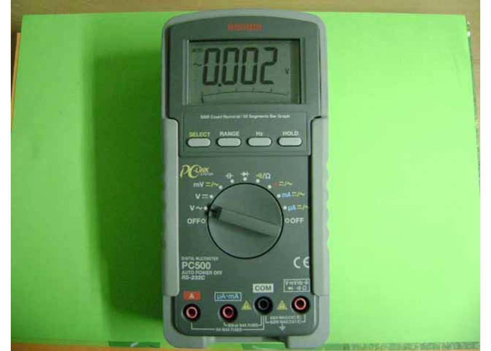 MULTIMETER SANWA PC500
