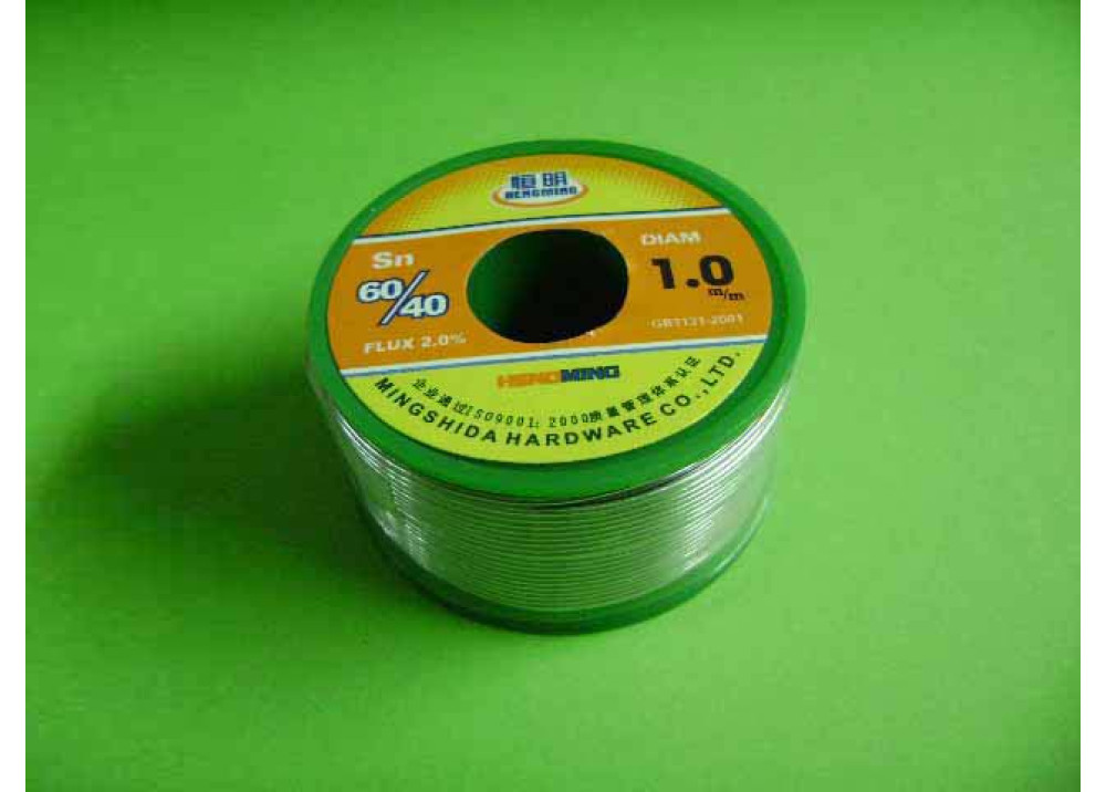 SOLDER HENGMING 1mm 60% 200G
