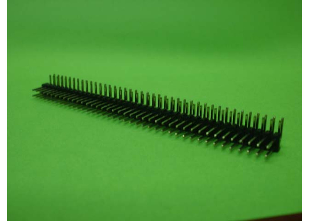 Pin header Double Row 2.54mm MHDR2X40P