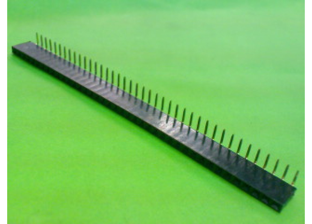 Female Header 2.54mm 90deg FHSR40P