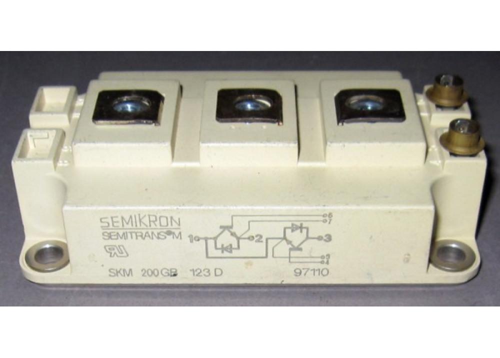 SKM200GB123D IGBT Module 200A 1200V