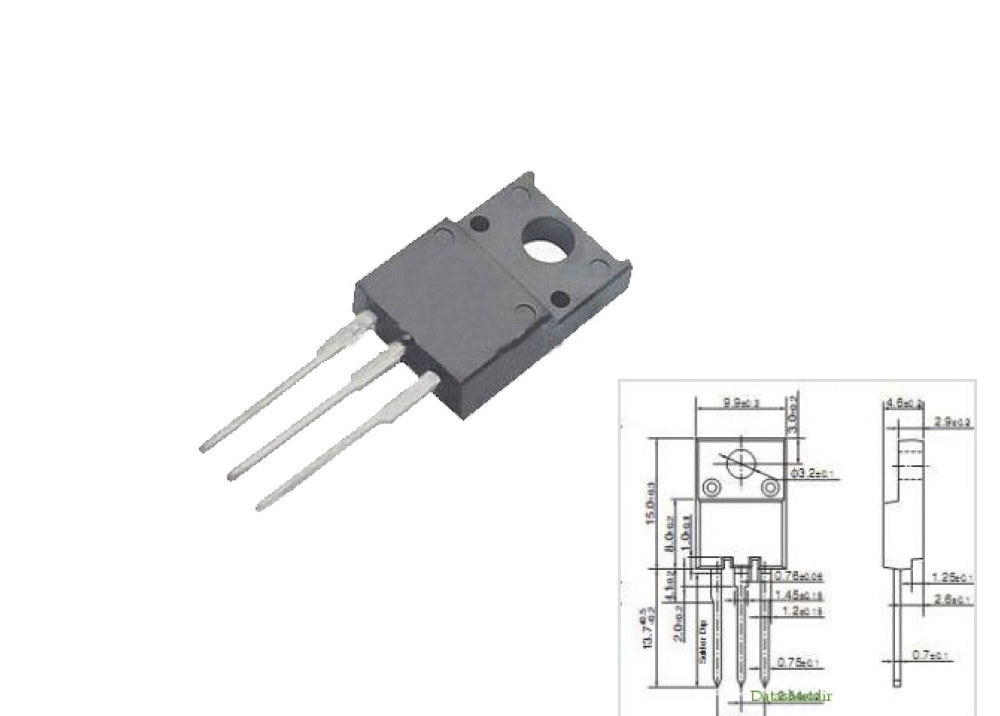 2SC5885 W/D NPN 1500V 6A 30W TO220F