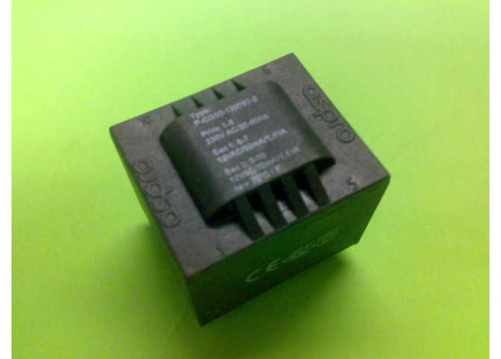 PCB TRANSFORMER 12VX2 2.2VA 184mA