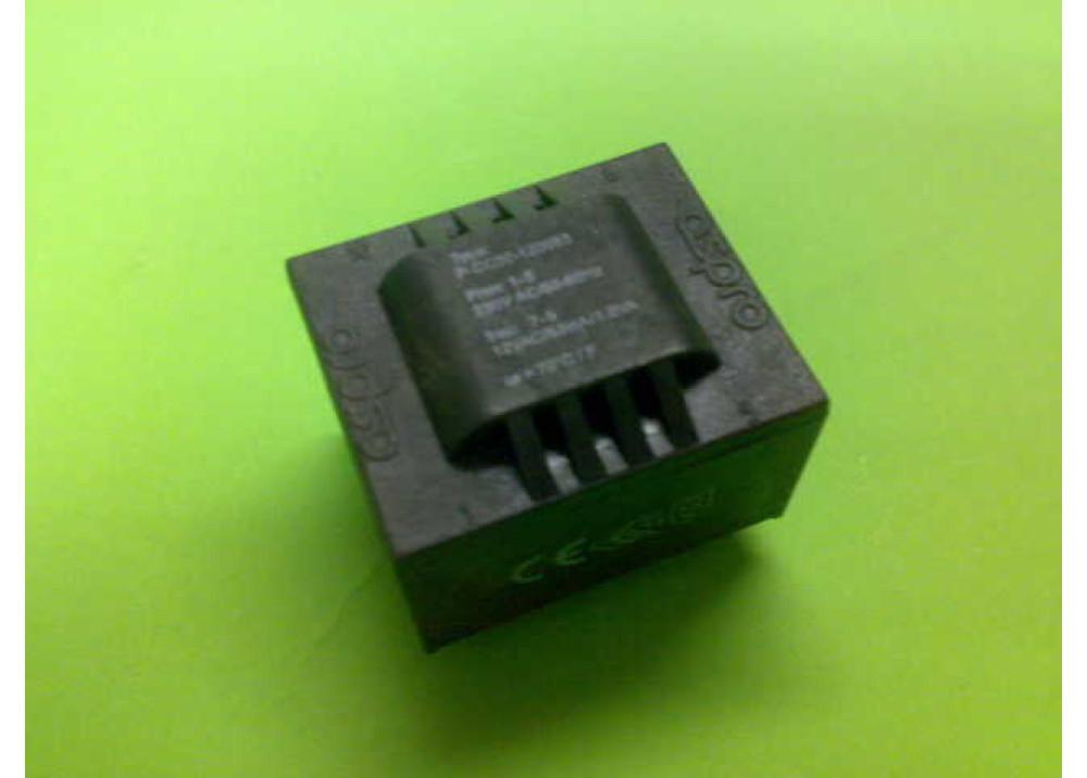 PCB TRANSFORMER 12VX1 1VA 83mA