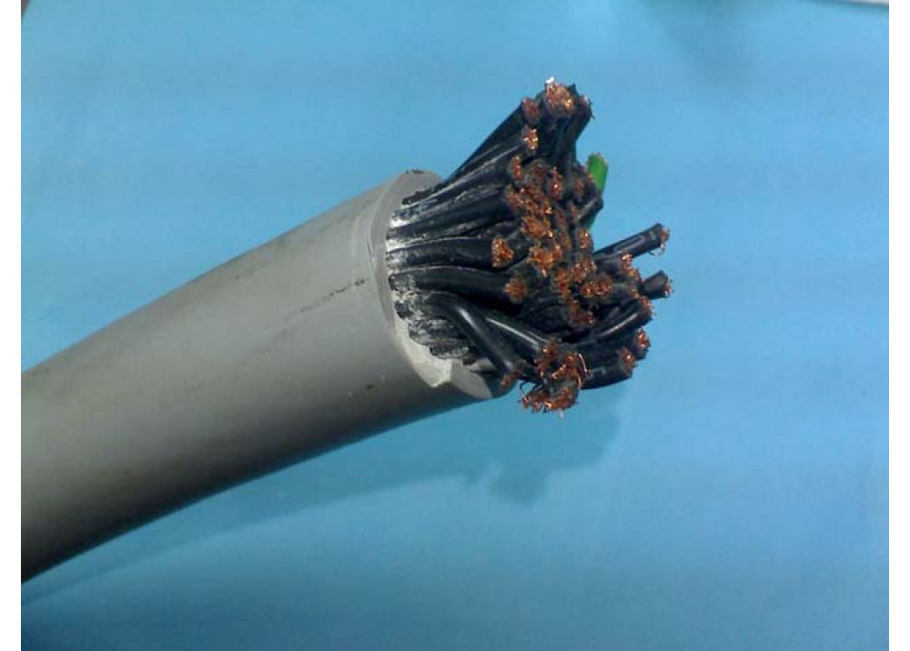 CONTROL CABLE 50P SHIELDED  1.5mm