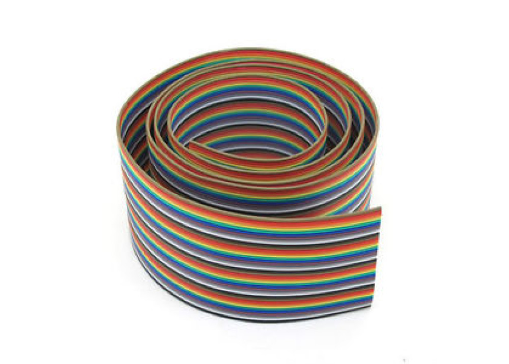 Ribbon flat cable color 60P