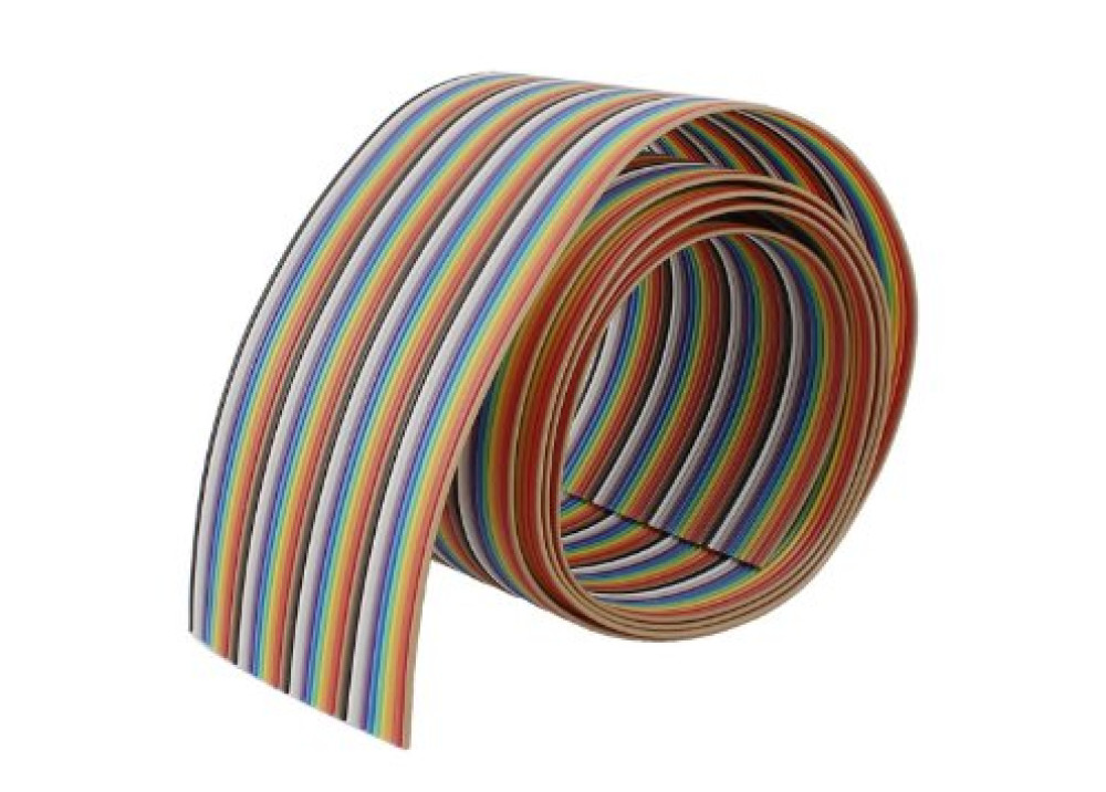 Flat Cable Color 1.27mm 40P