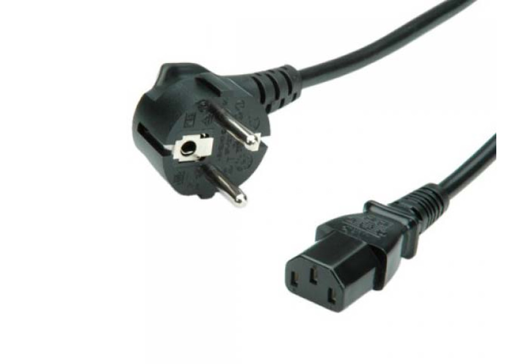 POWER CABLE SCHUKO 3X0.75MM 1.5M