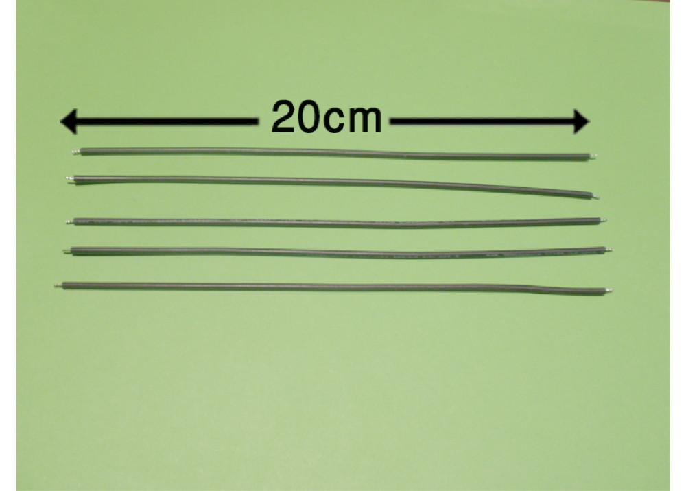 WIRE 20cm 2mm BLACK