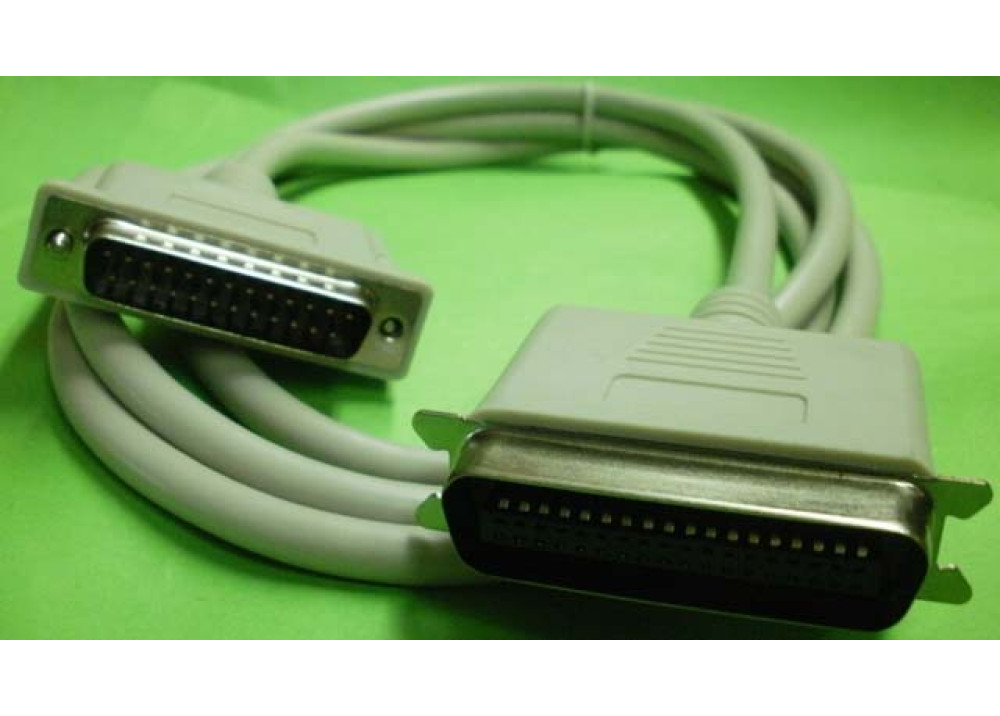 PRINTER CABLE DB25M TO CEN36M 1.8M