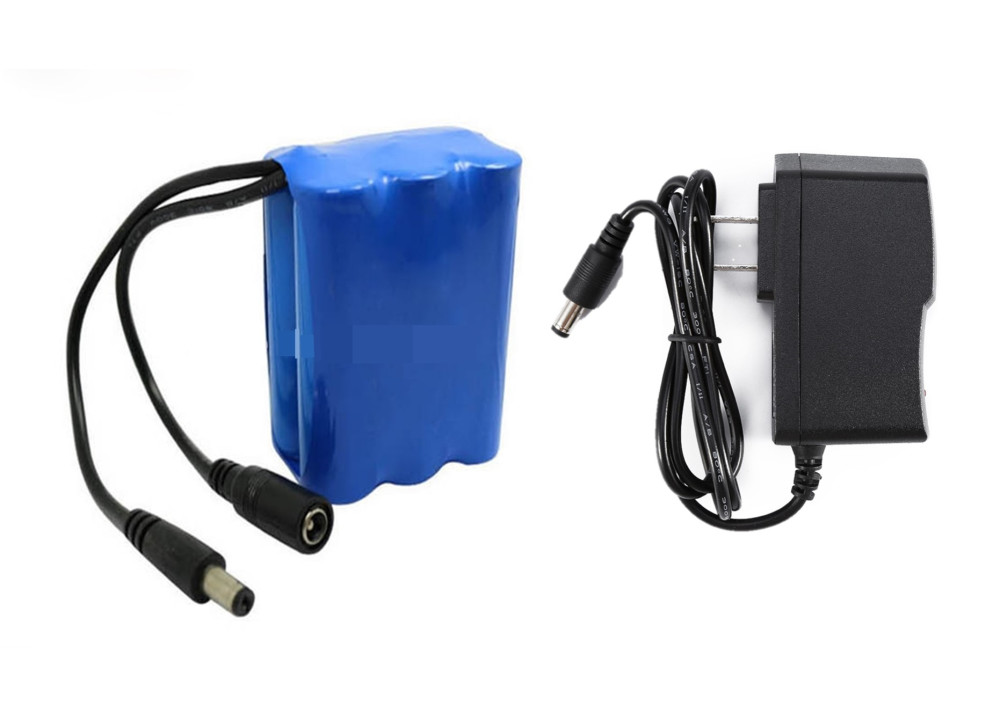 Lithium-Ion Battery 12V 6000mAH With Caharger 12.6V  500mA