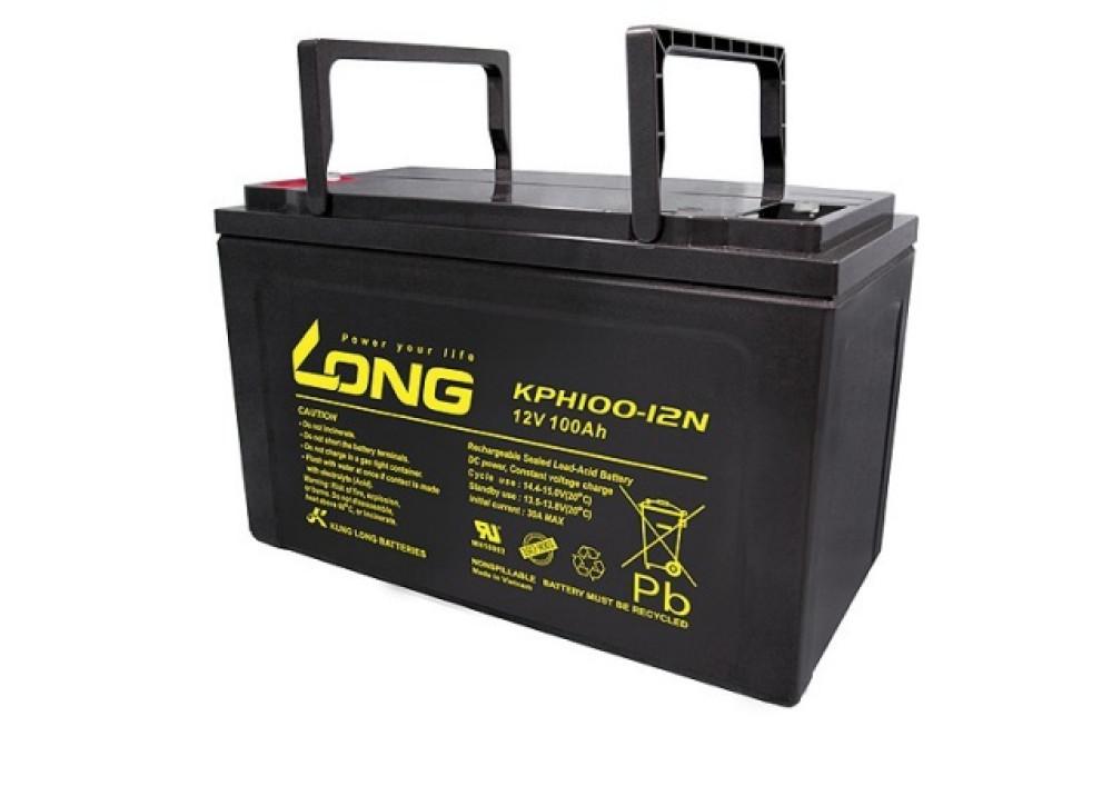 BATTERY LONG KPH100-12N 12V 100A