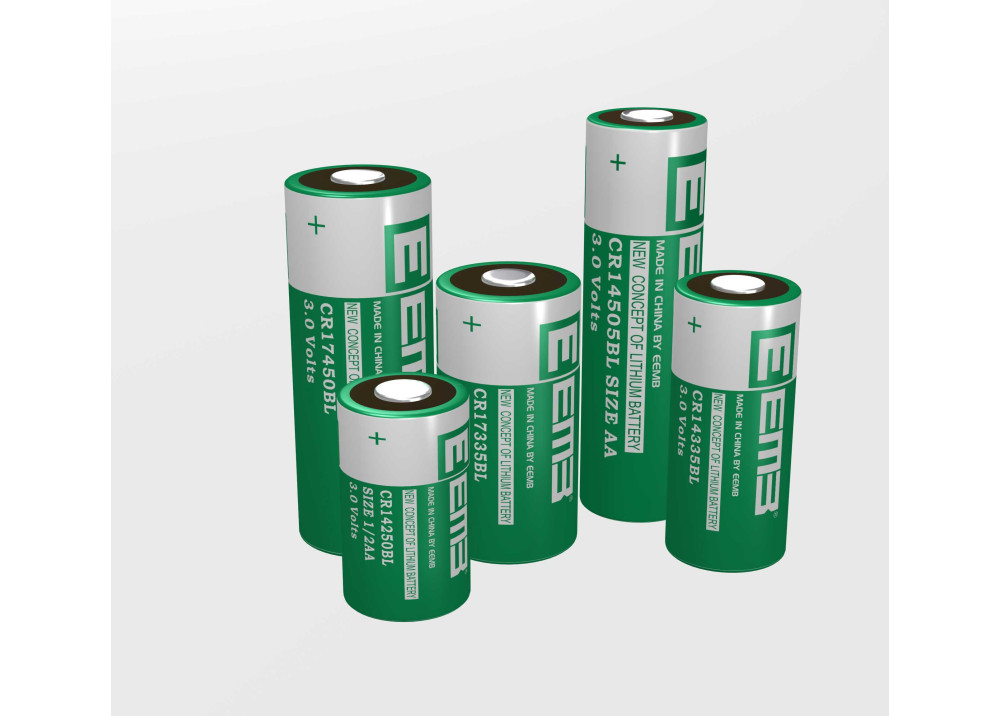 Battery Lithium EEMB CR17335BL 3V 1800mHA 2/3A