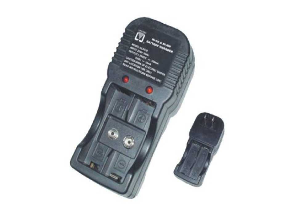 BATTERY CHARGER AA, Ni-Cd or Ni-MH, 9V LLD516