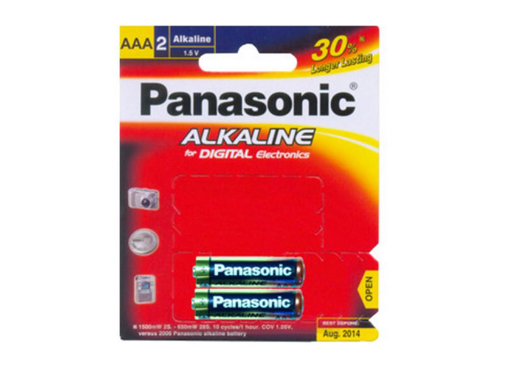 PANASONIC ALKALIN LR03T/2B AAA 1.5V 2PCS