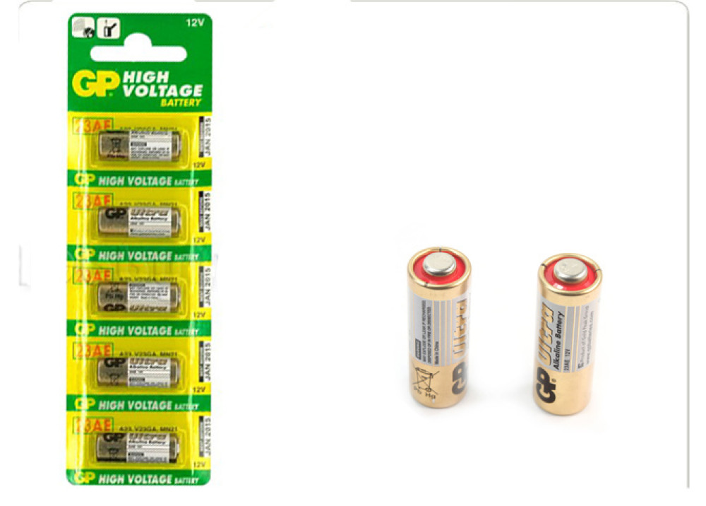 BATTERY GP12V 23AE 1PCS