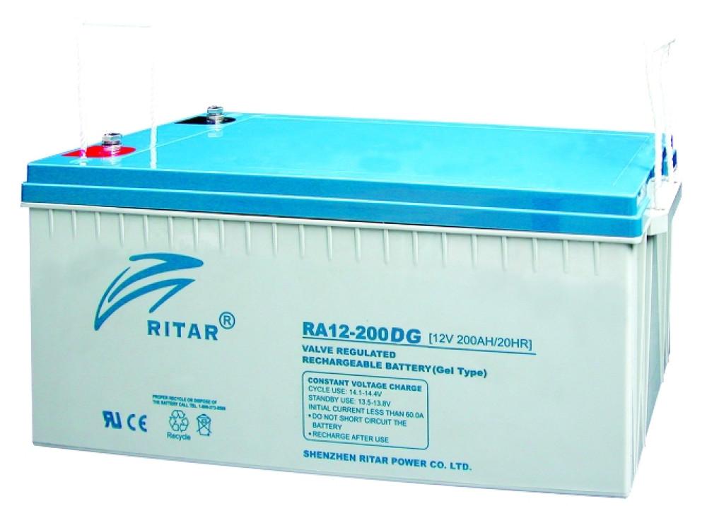 GEL Battery  RITAR 12V 200A