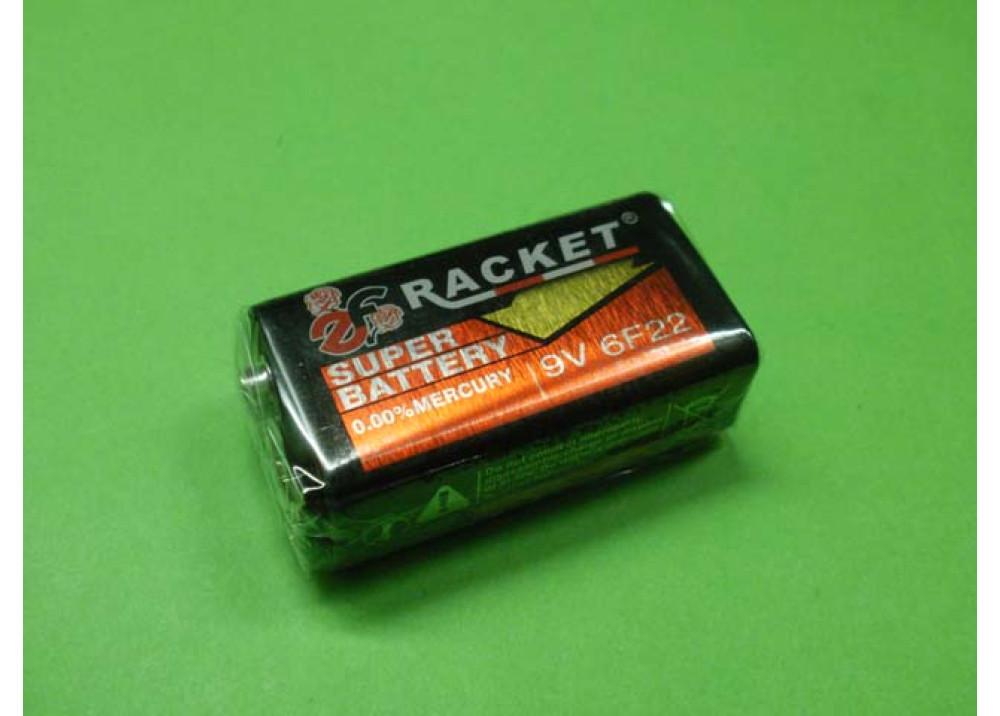 RACKET BATTERY 6F22-9V