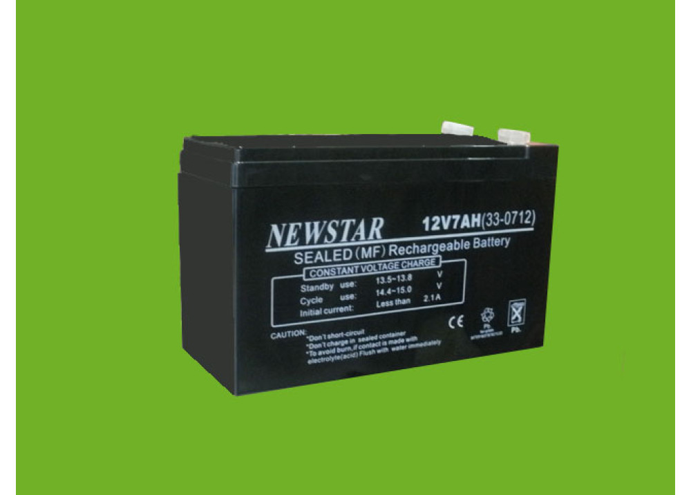 BATTERY NEWSTAR 12V 7A