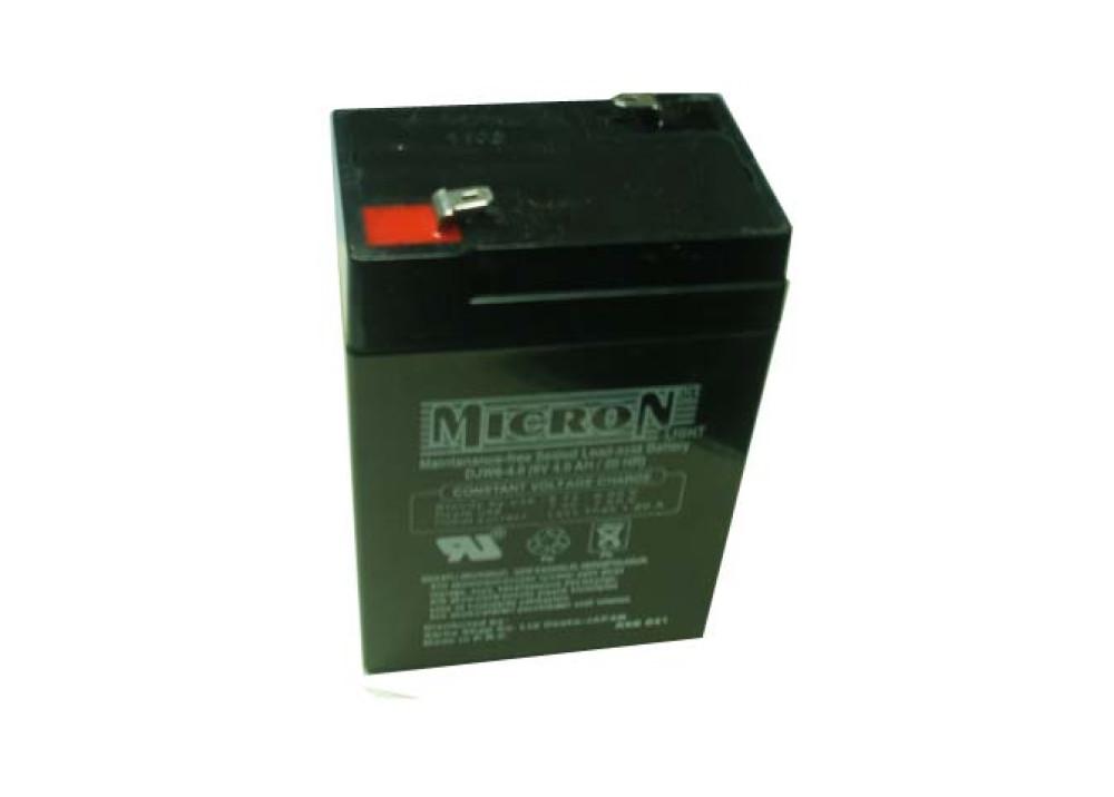BATTERY MICRON 6V 4A
