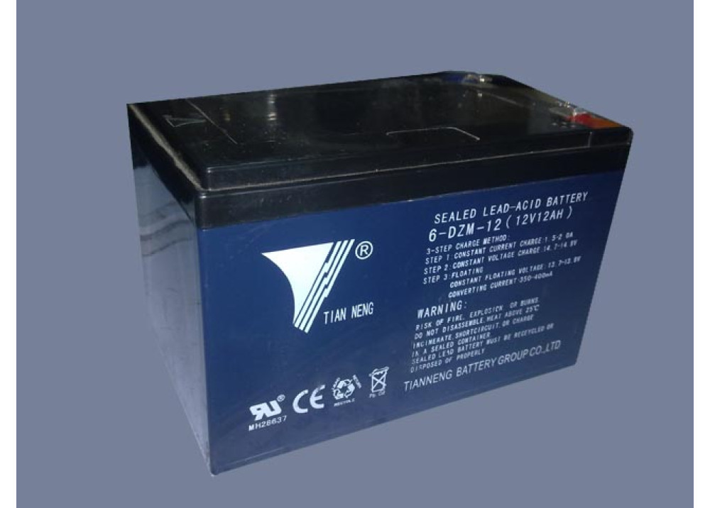 BATTERY TIAN NENG 12V 12A