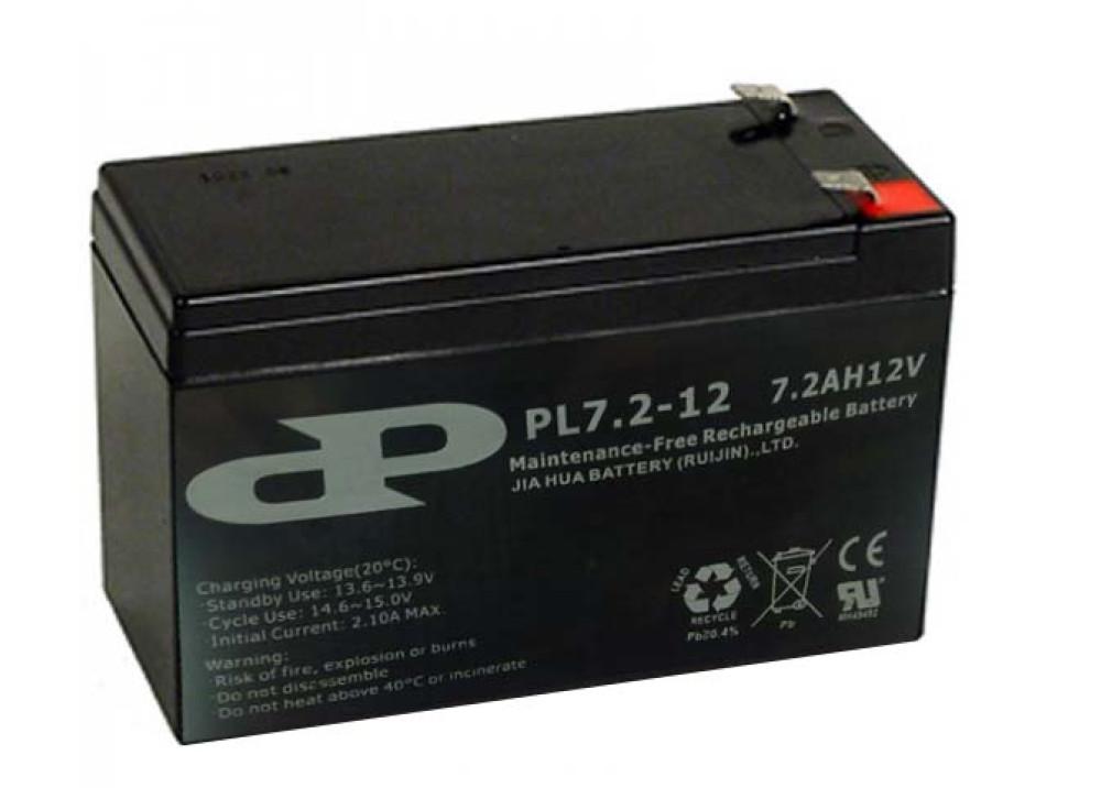 BATTERY PILOT 12V 7.2A