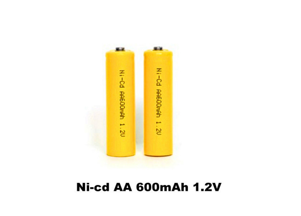 Rechargeable Battery B-NI-Cd-1.2V-600mAh