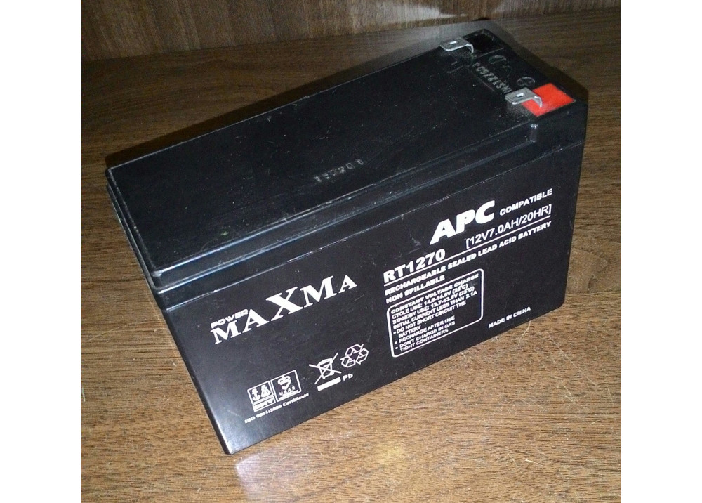 BATTERY MAXMA 12V 7A