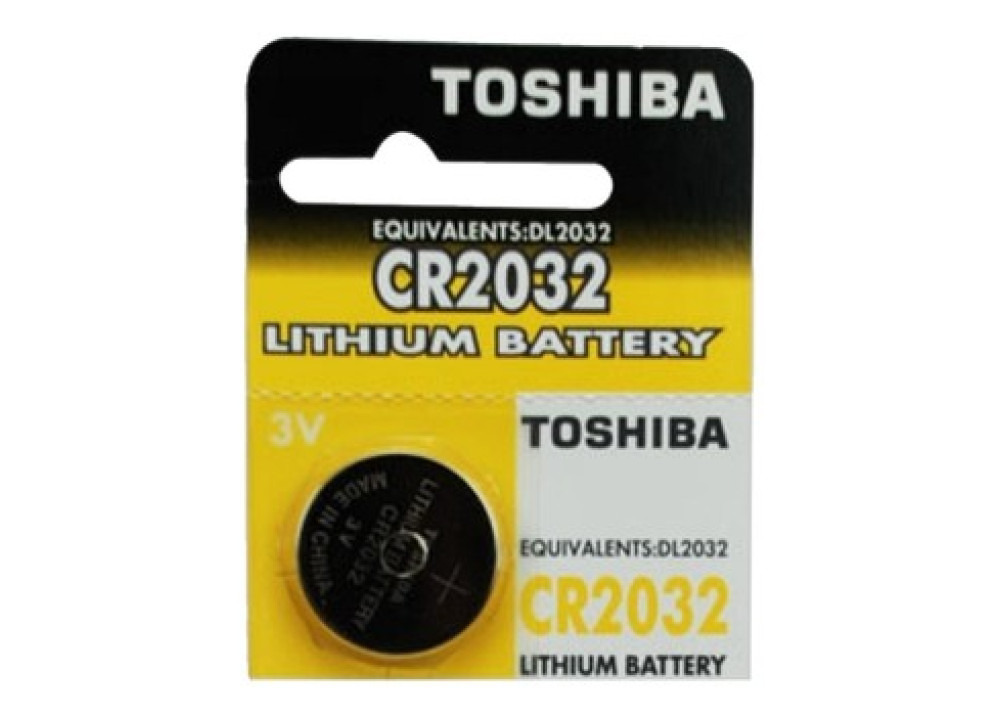TOSHIBA Lithium Battery CR2032  DL2032 3V