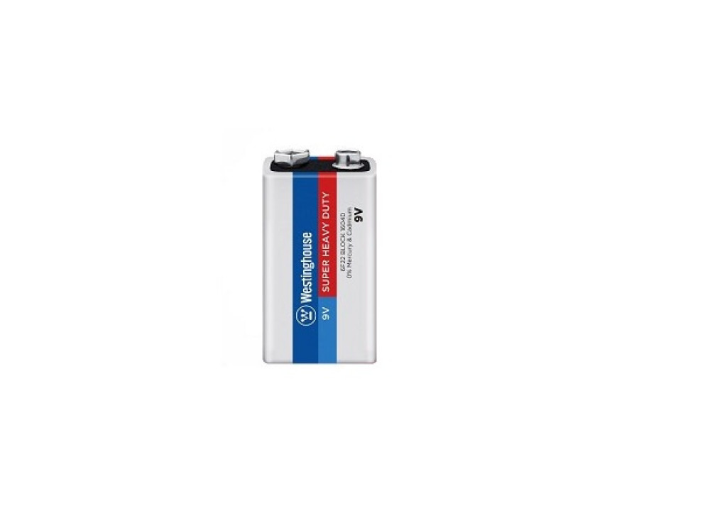 Westinghouse Super Heavy Duty Battery 9V