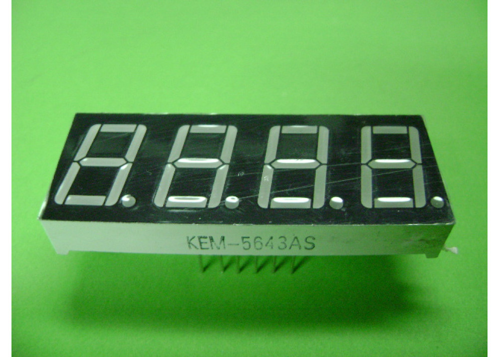 LED DISPLAY 7SEG 0.56-4R