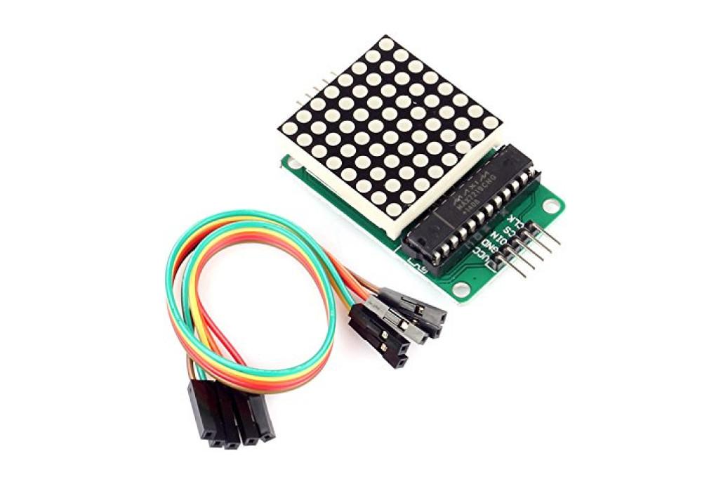 MAX7219 Dot Matrix Module 8*8 Common Cathode For Arduino