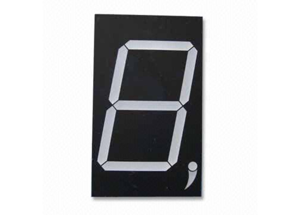 DISPLAY 5 inch 7SEG 5+1R Commom Anode