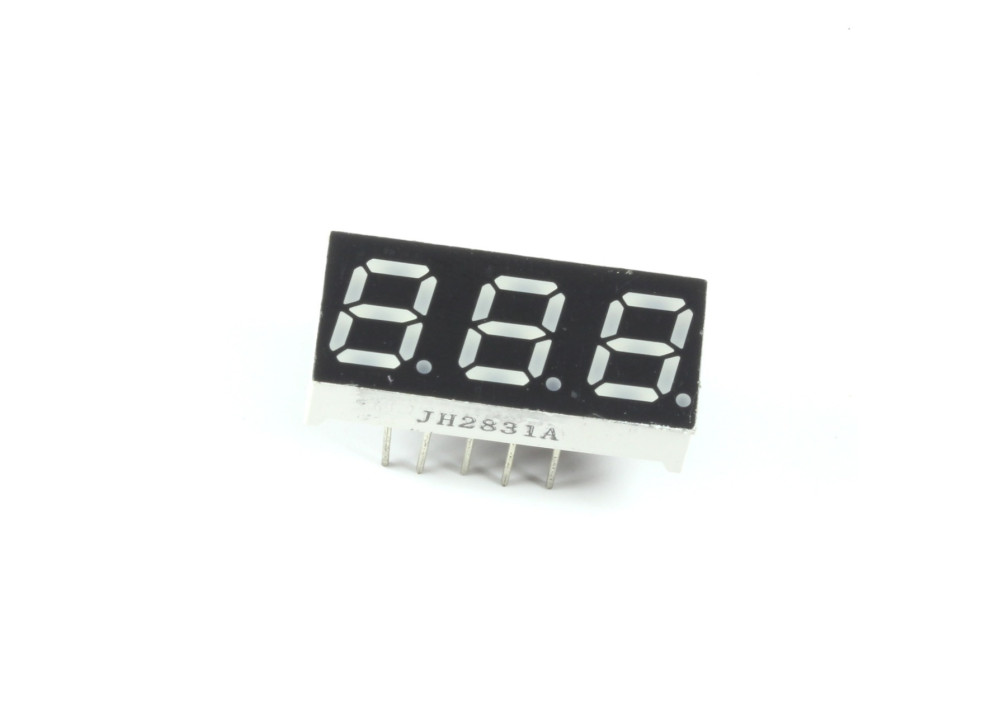 LED DISPLAY 7SEG 0.28+3R