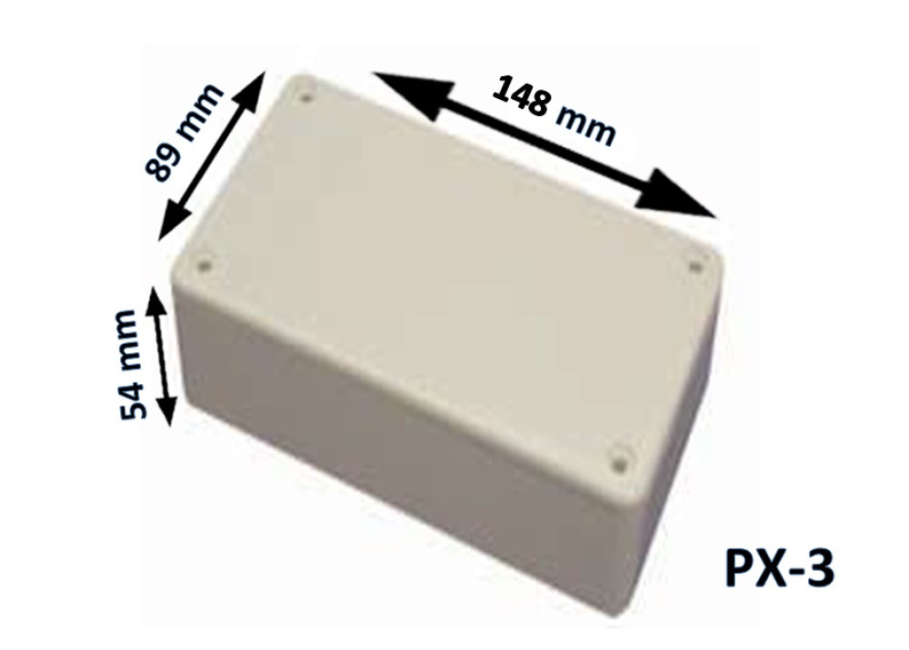 Plastic Box Enclosure PX-3 148x89x54 mm