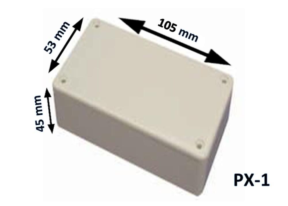 Plastic Box Enclosure PX-1 105x53x45 mm