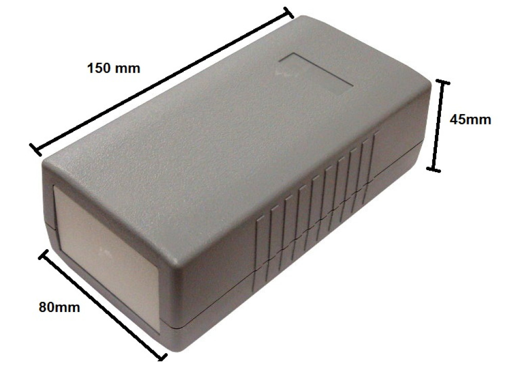 Plastic BOX G416 150x80x45mm