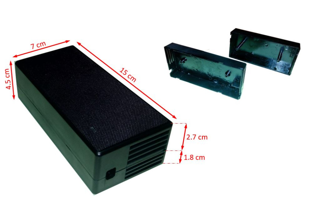 Plastic Enclosure For Electronic Charger