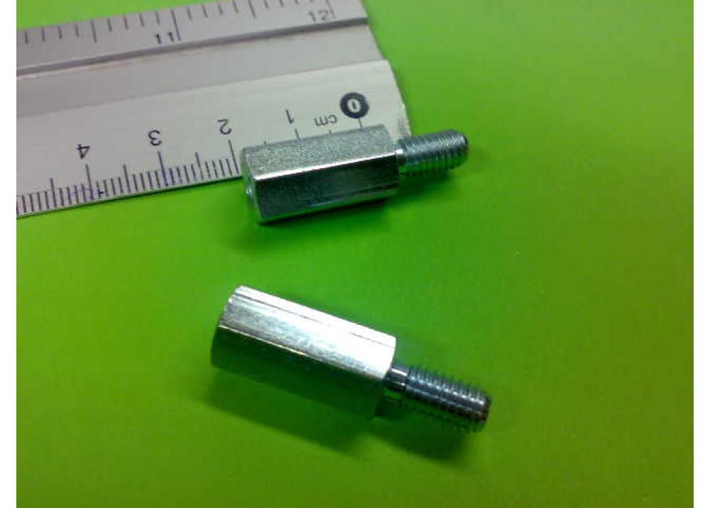 Spacer Brass M3 20mm 10mm 5mm MF